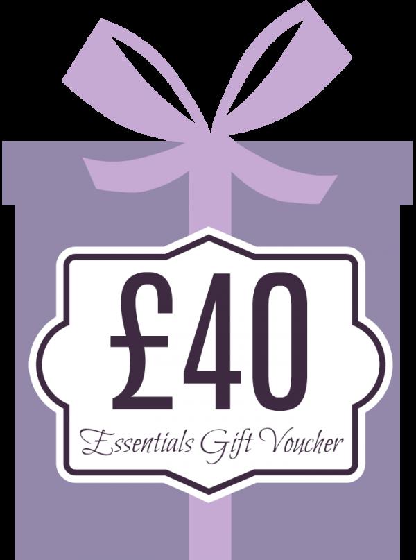 Essentials Gift Voucher £40